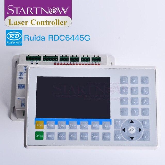 เลเซอร์ DSP ควบคุมระบบ CO2 เลเซอร์เครื่อง Controller Ruida RDC6445G RDC6445 6445 CNC ตัดแผงจอแสดงผลแทนที่ 6442G