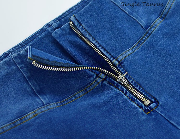 High Waist Push Up Jeans Woman Streetwear Skinny Denim Pants Mujer Blue Distressed Jean Cotton Spandex Tracksuit Spodnie Damskie Jeans Women Bottom ! Plus Size Women's Clothing & Accessories