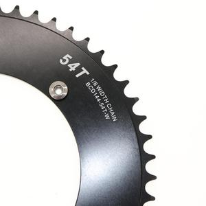 Image 5 - Stone Chainring 144 BCD do toru rower z ostrym kołem fixie 42/44/46/48/50/52/54/56/58/60T kolarstwo 144BCD płytka zębata koła łańcuchowego