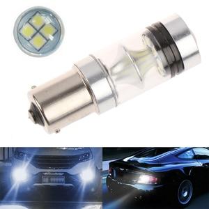 1Pc P21W BA15s 1156 LED Canbus Reversing Light Auto Reverse Backup Lamp Bulbs For BMW Hyundai Mazda Ford New Focus