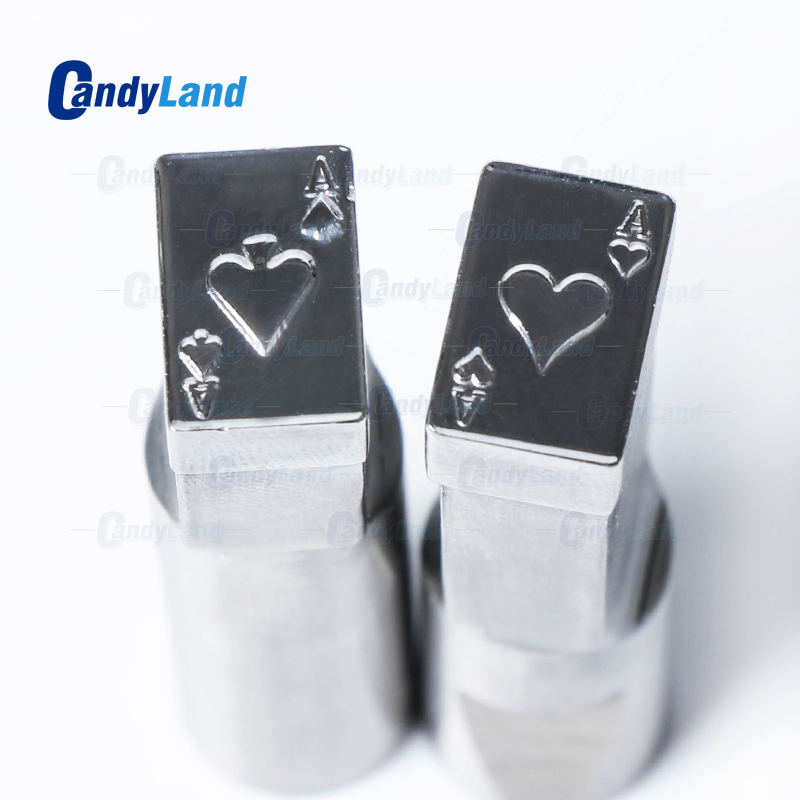 CandyLand Heart Tablet Die Pill Press Die Candy Punch Die Set Custom Logo Punch Die Cast Pill Press For Tablet TDP Machine