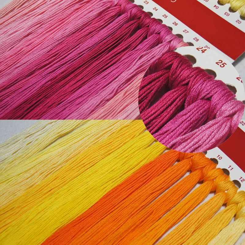 Flor Mariposa DIY hecho a mano costura contados 14CT impreso Cruz puntada kit juego de bordado Decoración de casa