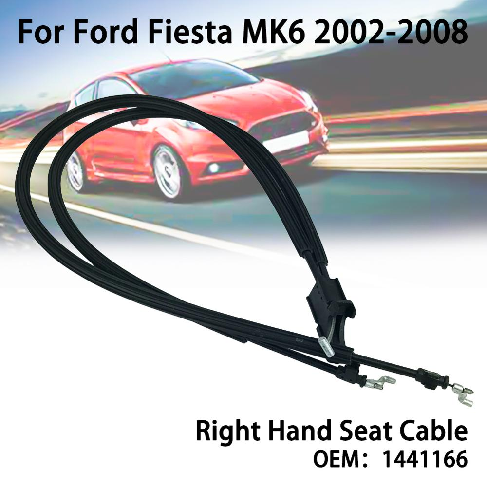 For FORD Fiesta MK6 2002-2008 LH Left Hand Front Seat Tilt Cables 1441167/1441166