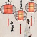 Luzes do Candelabro Do Hotel Villa Salão Restaurante Casa de Chá do Estilo chinês Luzes Penduradas Simples Moderna Sala de estar Quarto Iluminação