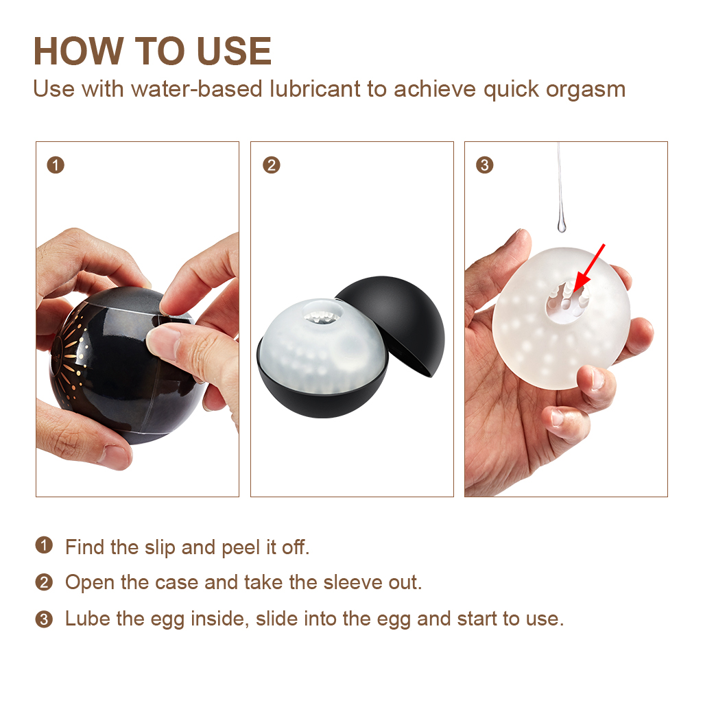 Luvkis Pocket Pussy Masturbator For Men Sex Toy Masturbation Cup Egg Blowjob Realistic Vagina Toy For