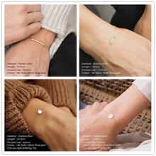 Женские браслеты cc модные ювелирные изделия золотого цвета