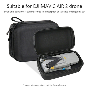 Portable Storage Bag for DJI Mavic Air 2 Drone/ Remote Controller Protective Shoulder Bag Carrying Case Drone Accessory Handbag image