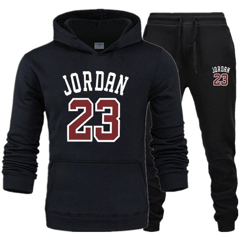 New 2019 Brand New Fashion 23 Men Sportswear Print Men Hoodies Pullover Hip Hop Mens Tracksuit Sweatshirts Clothing