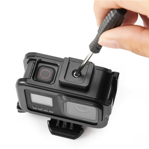 Image 5 - Suitable for Gopro Hero 8 Gopro 8 aluminum alloy protective frame Gopro Hero 8 protective shell frame base accessories