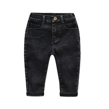 Kids Boys knitted Trousers Jeans 2021 Spring Autumn High Quality Casual Pants Children Baby boy girls Jeans 3-8 Years