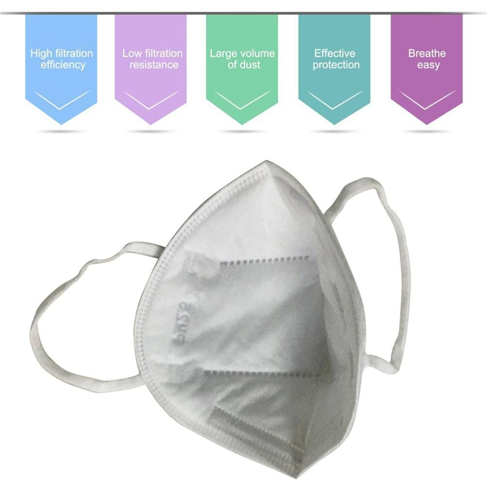 1PC Filter Protective Mask / Kn95 Anti-Fog Masks Kn95 Dust-Proof Pm2.5 Mask Face Protective Masks