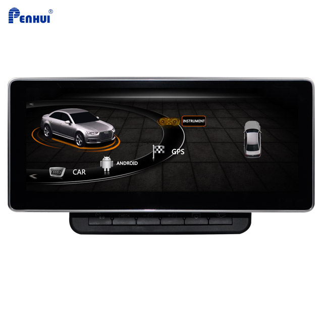 <font><b>10.25</b></font> <font><b>inch</b></font> Android Car DVD GPS Multimedia System for right hand driver <font><b>Audi</b></font> Q7 (2005-2009) & (2010-2013)Supporting Wifi/Carplay image