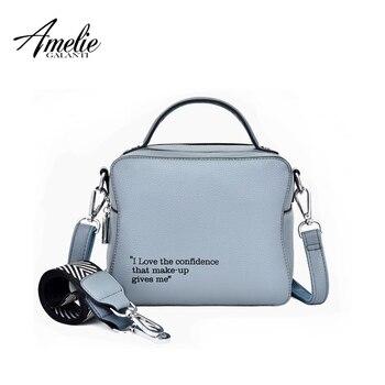 AMELIE GALANTI Crossbody bags for women 2019 women bag new fashion small square bag girl flip single shoulder slung mini handbag