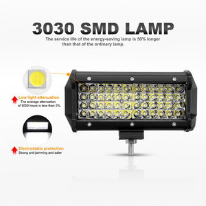 Image 2 - Nlpearl 72W 144W Light Bar/Work Light Spotlight LED Light Bar for Truck Driving Offroad Boat Car Tractor 4x4 SUV ATV 12V 24V