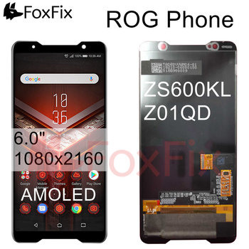 """For 6.0"""" ASUS ZS600KL LCD Display Touch Digitizer Screen Panel Assembly For ASUS ROG Phone ZS600KL LCD Z01QD Replacement"""