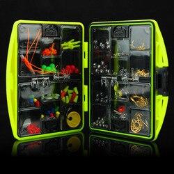 Pudełka wędkarskie zestaw 24 rodzajów haczyki wędkarskie wielofunkcyjny zestaw przyborów wędkarskich haki łyżka Sinker zestaw akcesoriów zestaw narzędzi w Zestaw wędkarski od Sport i rozrywka na