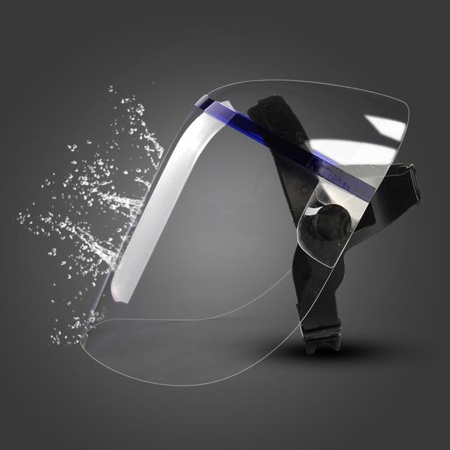 Protective Anti-shock Welding Helmet full Face Shield Solder Mask Plexiglass Face Eye Protect Shield Anti-UV Saliva Safety Masks 3