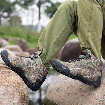 Winter Waterproof Tactical Boots Men Big Mountain Hiking Boots Outdoor Combat Shoes Trekking Sneakers Man Hiking Hunting Boots 1