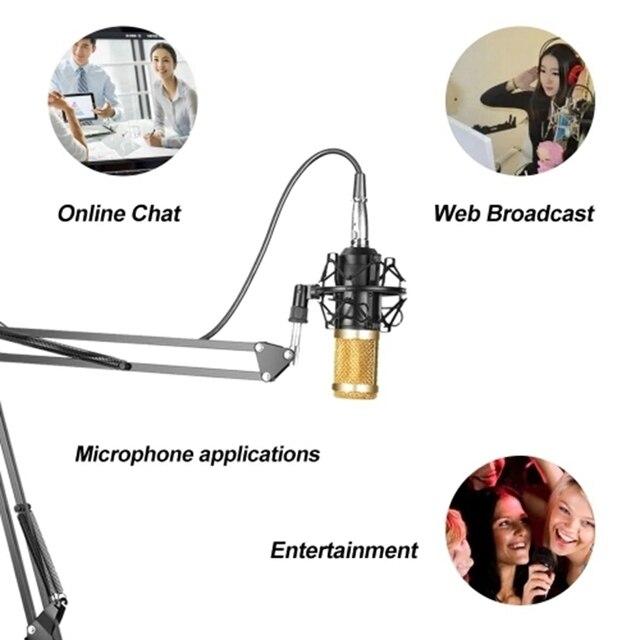 Купить профессиональная подвеска для микрофона набор студийной записи картинки цена
