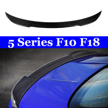 F10 Carbon Spoiler For BMW M5 F18 530i 535i Rear CS Style Trunk Wing 2010-2016