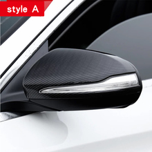 Rearview mirror shell For Mercedes w213 amg w205 amg/glc x253 coupe mercedes c class accessories Exterior trim