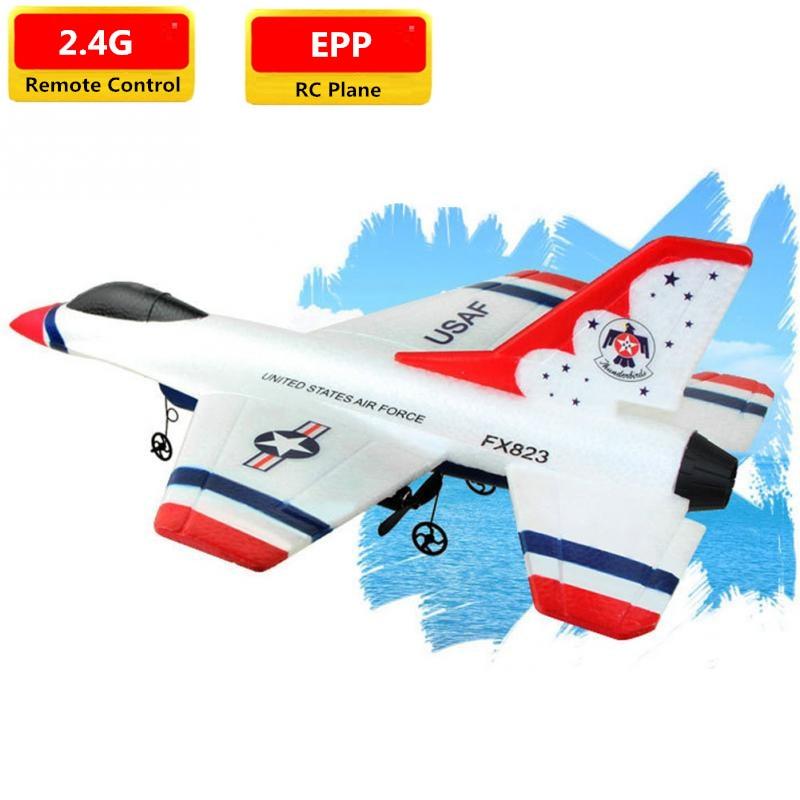 Фиксированное крыло 2,4G дистанционное управление RC Glider Fighter F-16 гром птицы фиксированное крыло размах крыльев EPP Материал самолет игрушка сам...