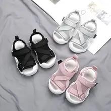 Mesh Sandals Shoes Baby-Girls Summer Kids Casual Fashion Beach Brand Black