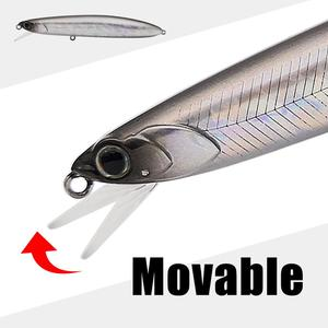 Image 1 - 2020 New Mobile lip Raptor Glide Minnow Bait Hound 110mm 17.5g/18.5g Full Weight Shift System crank wobbler Fishing Lures