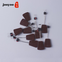 80pcs 10set Float 7+1 brown Rubber Stopper Fishing Floats Bobber Cylindrical Bean Space Line Tackle Equipment Smart Free