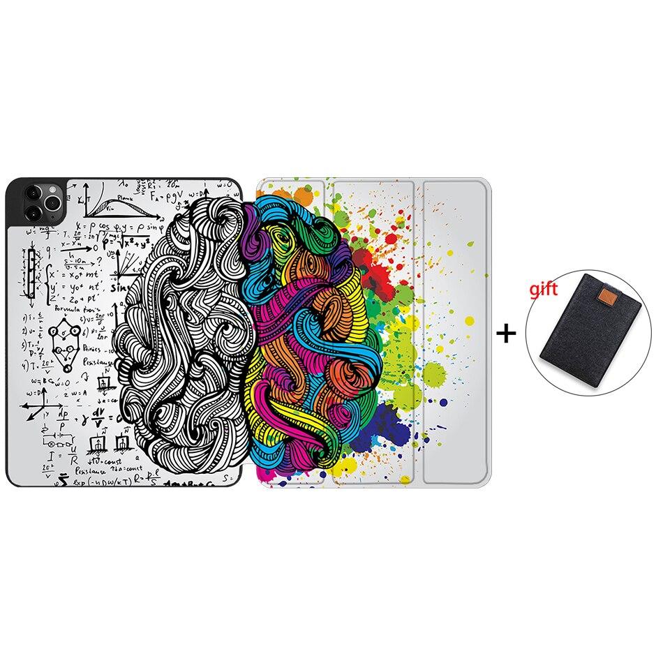 IPTPU08 Gray MTT Case For iPad 4th Gen Pro 12 9 2020 Release A2229 A2233 Soft TPU Back
