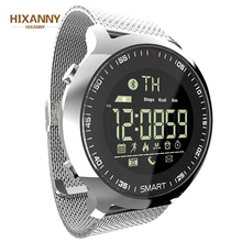 купить New Fashion Sport Watch Bluetooth Waterproof Men Smart Watch Digital Ultra-long Standby Support Call And SMS Reminder SmartWatch онлайн