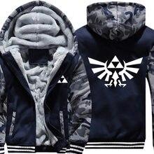 Cosplay sweatshirts moletom com capuz jaqueta masculina feminino casaco quente com capuz inverno luminoso velo hoodie