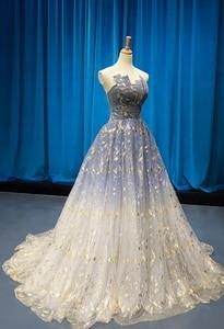 Image 2 - Женское свадебное платье без рукавов, маленькое платье подружки невесты со шлейфом для выпускного вечера