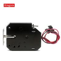 KINGJOIN DC-12V electrical Lock Picks latch Electromagnetic Lock for Electronic Locker Smart Cabinet Lock