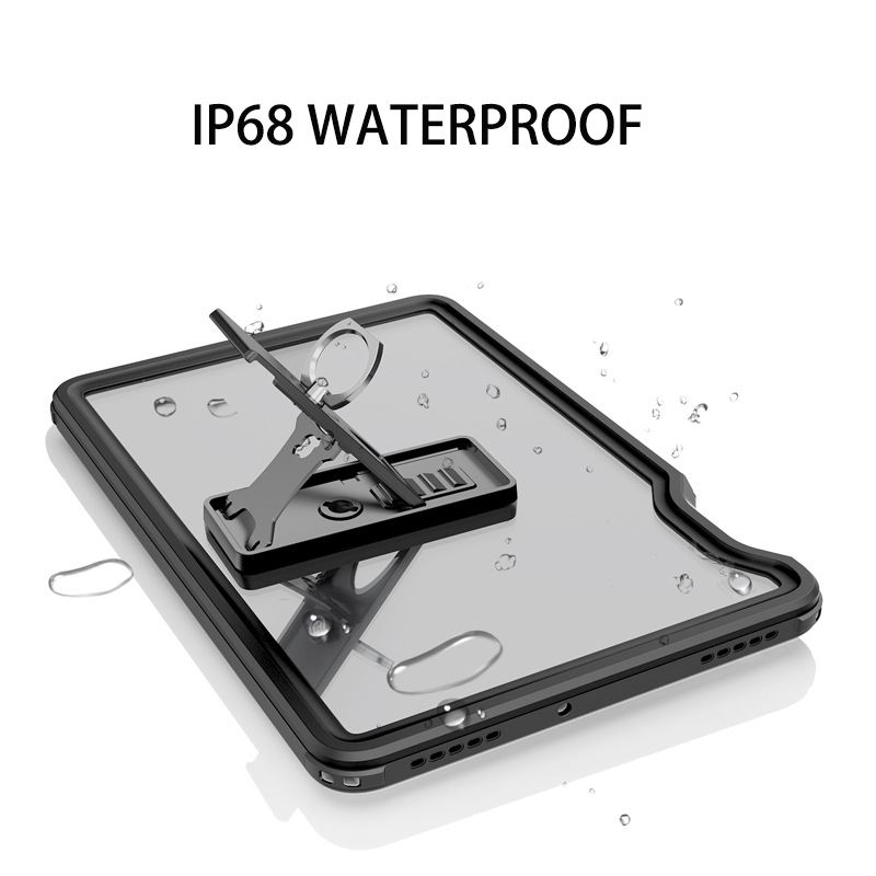 Real Waterproof Case for Samsung Galaxy Tab S5E 10.5 T720 Shockproof Full Protect Tablet Cover for Samsung S5e Underwater Swim-1