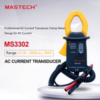 MASTECH Herkunft MS3302 AC Strom Clamp Meter 0.1A 400A Transducer True RMS|Clamp Meter|Werkzeug -