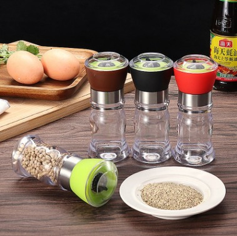 Handy Manual Mill Pepper And Salt Grinder Seasoning Peper Spice Grain Mills Porcelain Grinding Core Mill Kitchen Tools