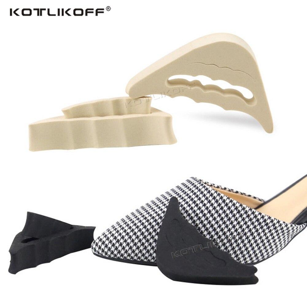 2PCS Forefoot Insert Pad For Women High Heels Toe Plug Half Sponge Shoes Cushion Feet Filler Insoles Adjustment Anti-Pain Insole