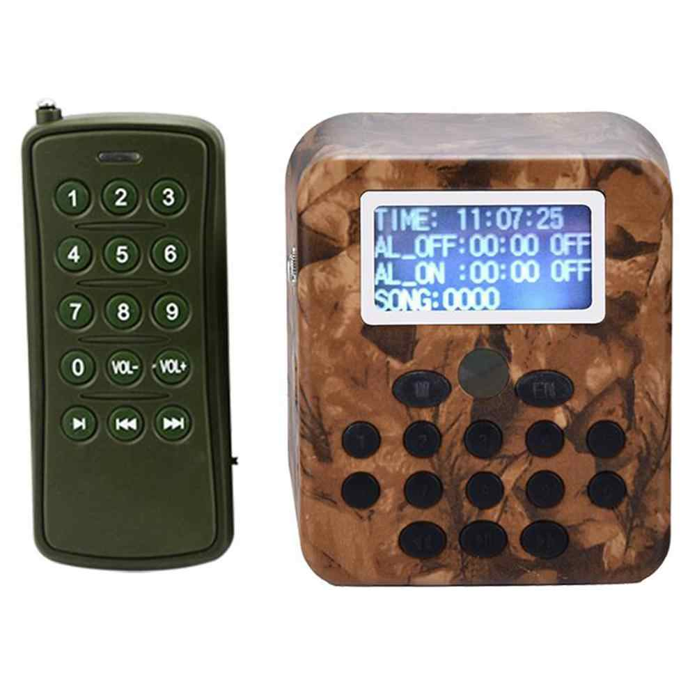 Bird Hunting Lure MP3 Bird Caller Sound Game Calls Player Loud Speaker Amplifier