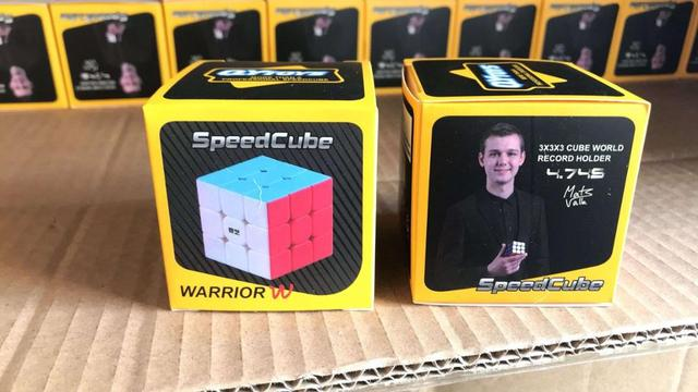 QiYi Warrior W 3x3x3 carbon fibre Professional Magic Cube Competition 3x3 Speed Puzzle Cubes Toys For Children Kids Best Gift 6