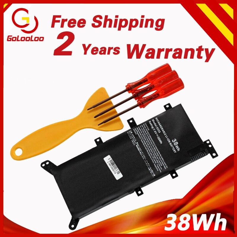 Golooloo 7.6V 38WH C21N1347 Laptop Battery for ASUS X554L X555 X555L X555LA X555LD X555LN X555MA 2ICP4/63/134