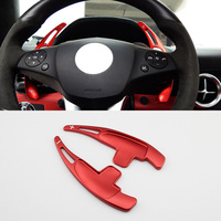 Steering Wheel Shift Paddle Shifter Fit For Benz AMG A C E M G S Class C117 W218 X156 C197 Accessories