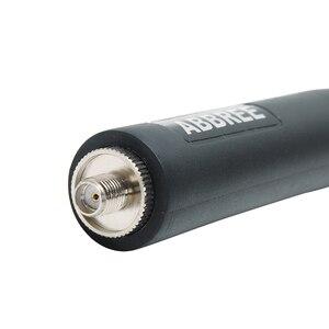 Image 5 - Abxie antena táctica VHF UHF para Baofeng AR 152 Plus, UV 9R, impermeable, UV XR, Walkie Talkie bidireccional, BF 9700