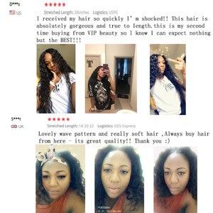 Image 2 - Mechones de cabello humano Remy con ondas al agua indio, postizo de Color Natural 1B, se puede teñir de 8 a 26 28 30 pulgadas 3 4 ofertas de extensiones