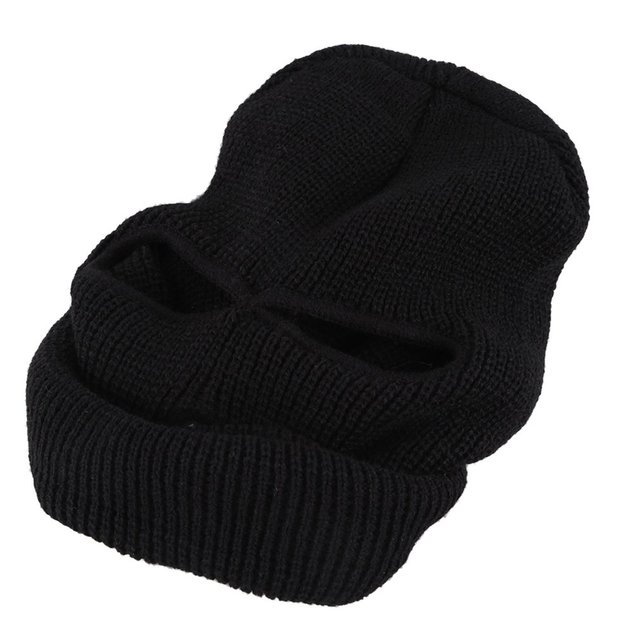 Black Mask Thinsulate Winter Sas Style Army Ski Knitted Neck Warmer One Size Fits Most For winter activities Hot 4