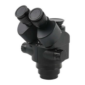 3.5X 7X 45X 90X Simul-Focal Stereo Microscope Trinocular Microscope + 37MP 1080P HDMI USB Video Camera For PCB Soldering