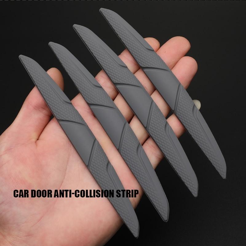 6 шт силикагель Авто двери охранник край Угловой протектор буфера отделка под давлением защитный чехол с защитой от царапин защитный брус