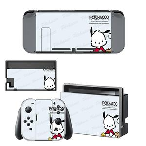 Image 5 - Vinyl Screen Skin Pochacco Dog Protector Stickers for Nintendo Switch NS Console + Joy con Controller + Stand Holder Skins