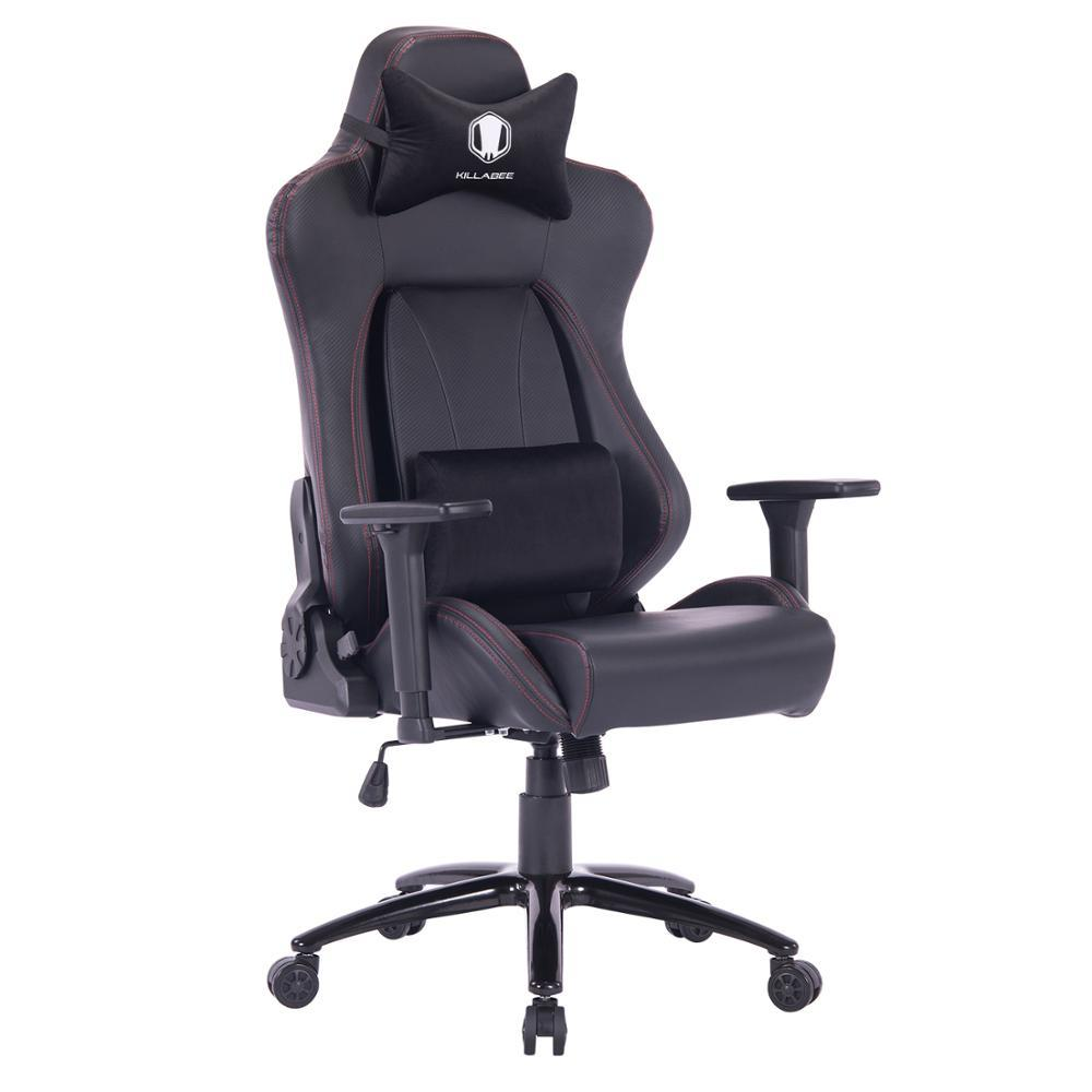 KILLABEE 2019 Gaming Chair Racing  Chair Gaming Chair Racing Office Chair -Back Angle Ergonomic High-Back Leather