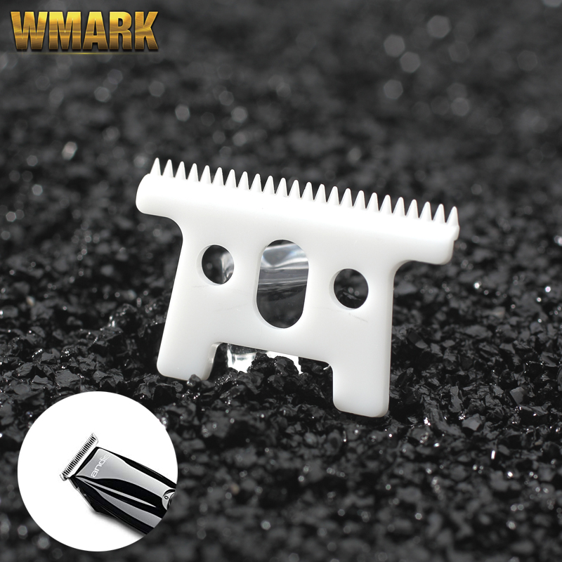 WAMRK C-1 2/10/50/500 Pcs For Andis D7 D8 SlimLine Pro Li Choice.Ceramic Movable Blade 24 Teeth With Box Replacement T Blade